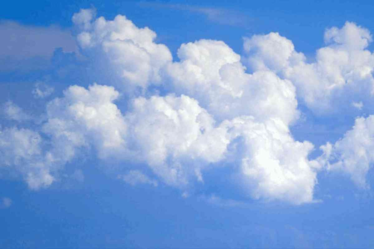 Background Wallpaper Image: Blue Sky With Clouds